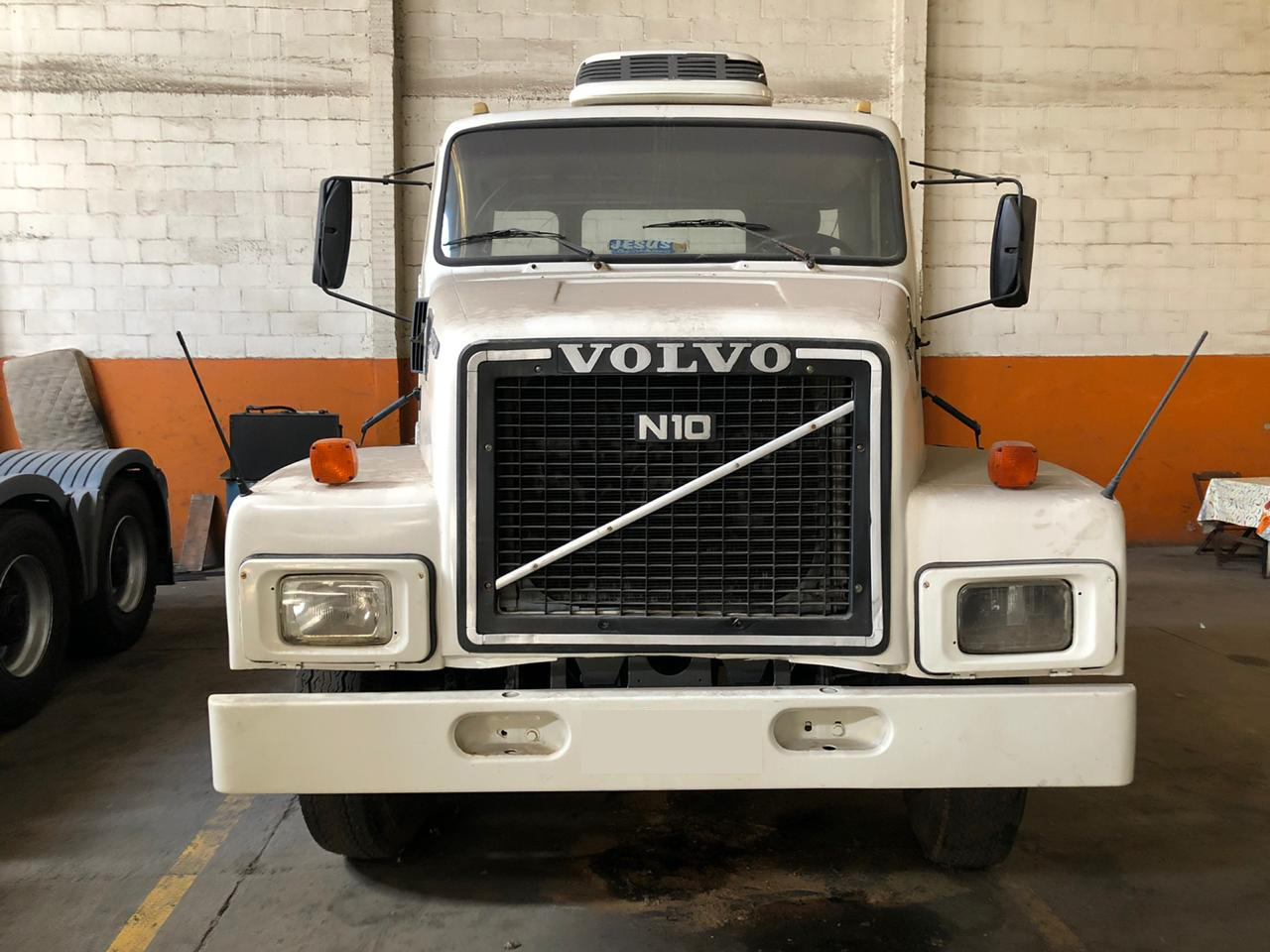 VOLVO N10 TURBO 280 4X2 1987