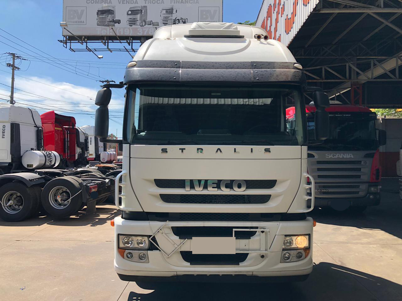 IVECO STRALIS 380 HD 4X2 2010
