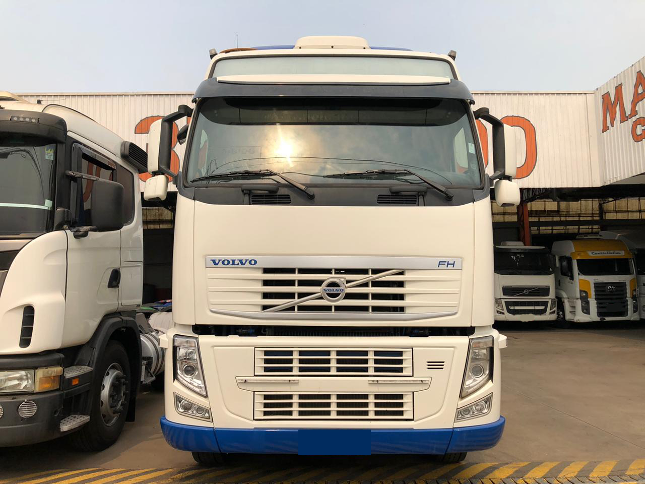 VOLVO FH 540 GLOBETROTTER 6X4 2013